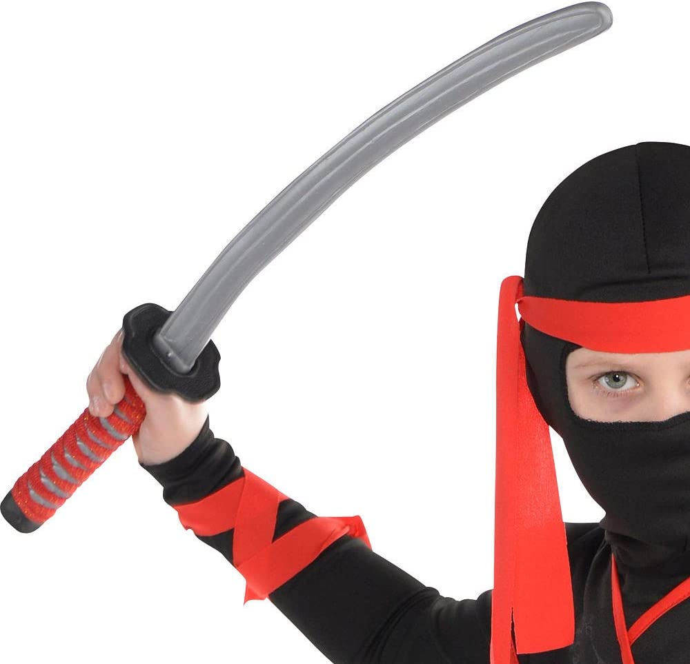 Medium with Included Accessories AMSCAN Shadow Ninja Halloween Costume for Boys
