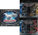 Monsuno Card Game Bundle of Booster Box and 2 Starter Decks