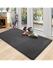 """Color&Geometry Indoor Door Mat 32""""x48"""" Non-Slip Front Door Mat Low-Profile Entrance Mat Welcome Mat for Entryway/Front Porch/Back Door/Laundry Room"""