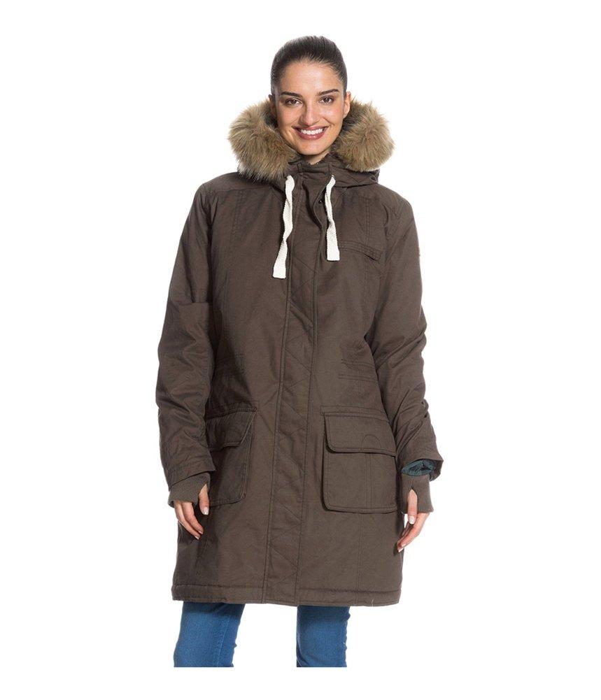 Roxy Road Trip Jacket - Women's Major Brown, XL