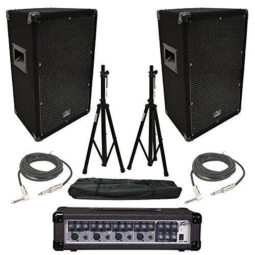dj mixer for speakers - 8