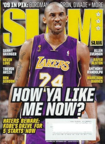 Slam Magazine - September 2009: Basketball Magazine Featuring Kobe Bryant, Danny Granger, Kevin Love and More!