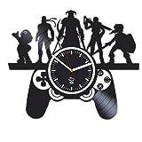 Kovides Online Games, Sony Play Station, Best Gift for Gamer, Boyfriend, Vinyl Record Clock, Vinyl...