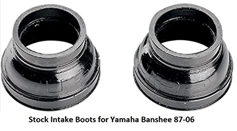 Carb Carburetor Stock Intake Boots for Yamaha Banshee 1987-2006 YFZ350 - Yamaha Banshee Stock
