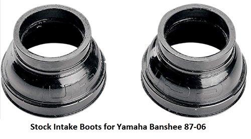 arb Carburetor Stock Intake Boots for Yamaha YFZ350 Banshee 1987 - 2006 (1989 Yamaha Banshee Stock)