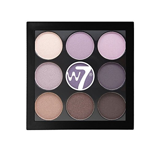 W7 The Naughty Nine Shades of Eye Colour Eyeshadow Palette-B