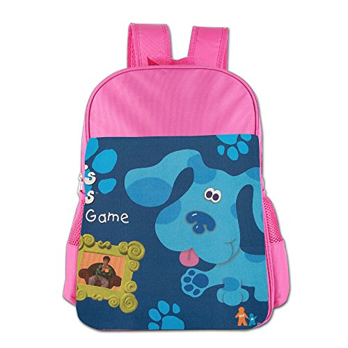 Blue Clues Kids School Backpack Bag Pink
