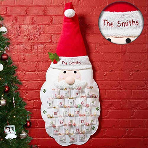 DIBSIES Personalization Station Personalized Advent Calendar (Santa)