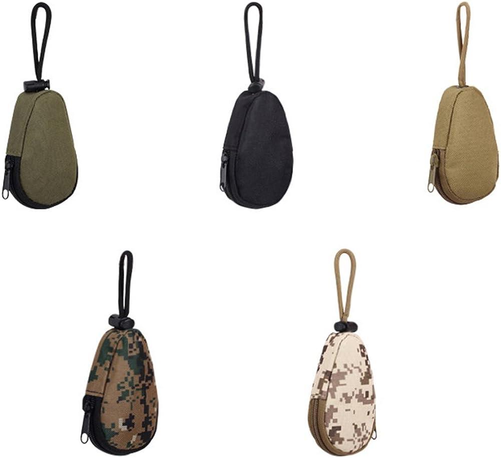 Colorido Unisex Waterproof Portable Mini Army Fan Key Bag Keychains Case Pouch