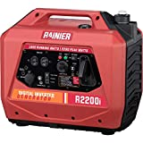 Rainier Portable Generator with Electric Start - CARB Compliant