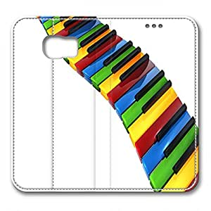 Samsung S6 leather Case,Samsung S6 Cases ,Color Keyboard Custom Samsung S6 High-grade leather Cases