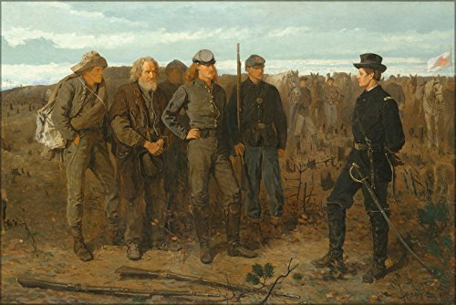 24x36 Poster; Prisoners From The Front 1866 Winslow Homer