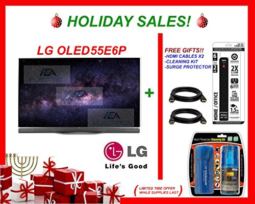 LG OLED55E6P 55-Inches 3840 x 2160 4K Ultra HD Smart OLED TV