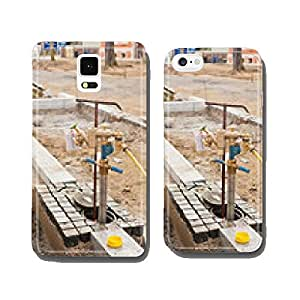 A beach for pipe construction water at an underground hydrants cell phone cover case Samsung S5