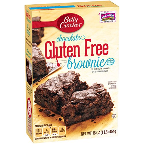 Betty Crocker Chocolate Brownie (Betty Crocker Gluten Free Brownie Mix, 16 oz)