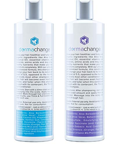 Buy organic shampoo and conditioner for curly hair