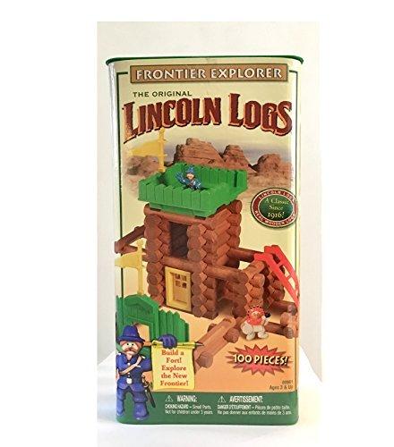 Frontier Explorer Building Set - The Original Lincoln Logs