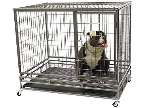 Go Pet Club Heavy Duty Metal Cage, 24
