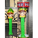 Pez Elf Dispenser with Refills Christmas Tube Holiday by Pez Candy