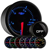 GlowShift Tinted 7 Color Fuel Level Gauge