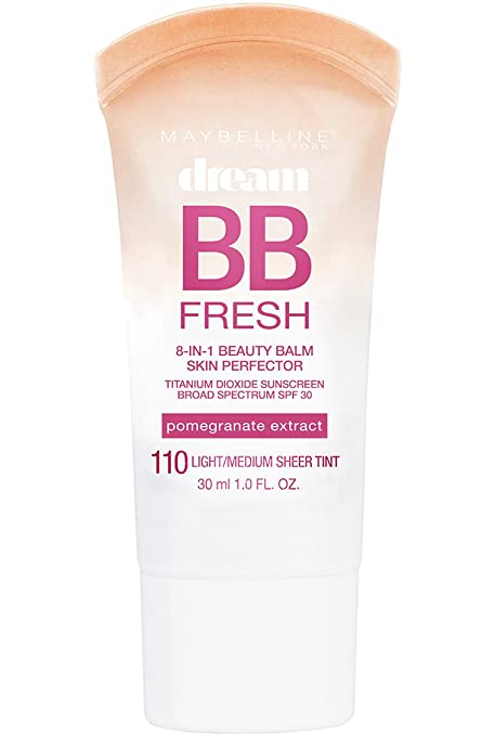 Maybelline New York Dream Fresh BB Cream, Light/Medium, 1 Ounce (Packaging May Vary) Best CC Creams