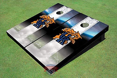 - Skip's Garage Kentucky Wildcats Home Field Long Stripe 2x3 Cornhole Boards (24