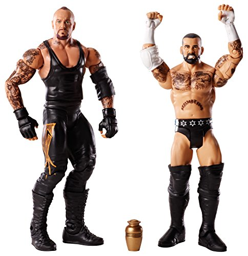 WWE Battle Pack CM Punk vs. Undertaker with Urn Action Figure, 2-Pack (Wwe Cm Punk Figure)
