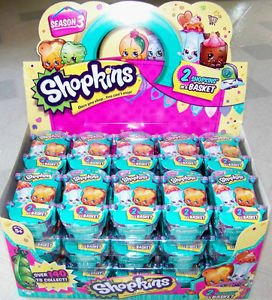 2 Shopkins In A Basket Season 3 Costume Accessory (Costume Jobs)