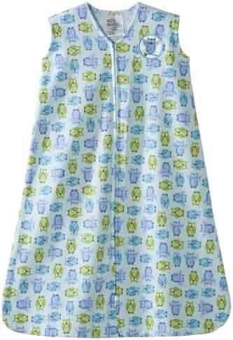 Halo Sleepsack 100% Cotton Wearable Blanket, Owl, Large
