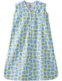 Sleepsack 100% Cotton Wearable Blanket, Owl, Large