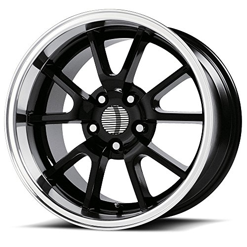 OE Creations | 118B-896530 | 18 Inch | Mustang FR500 | PR118 Wheel/Rim | Black | 18x9 Inch | 5x4.5/5x114.30 | (Mustang Black Fr500 Rims)