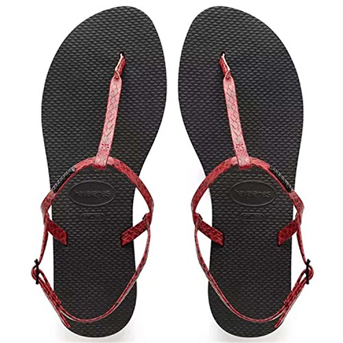 Riviera Rouge Femme Croco Havaianas Sandales You wRYnFXqO
