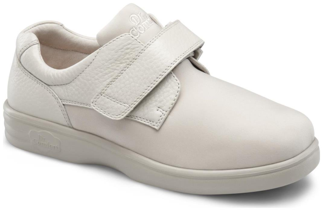 Dr. Comfort Annie-X Women's Therapeutic Diabetic Double Depth Shoe: Beige 9 Wide (W/2E) Velcro