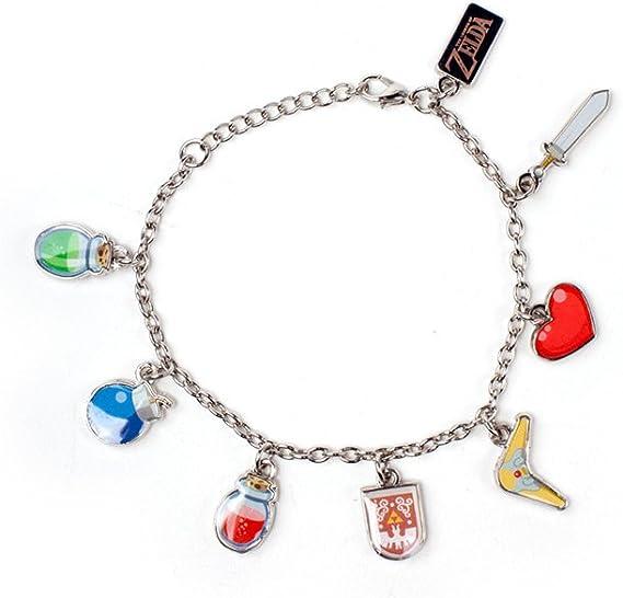 joyería de la pulsera del encanto de la pulsera del encanto Zelda Wind Waker 18cm Nintendo: Amazon.es: Juguetes y juegos