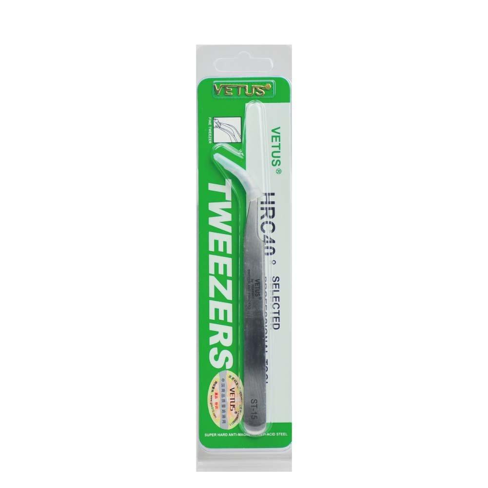 BEYELIAN Vetus Tweezers Volume and Individual Eyelash Extension Application Tool Stainless Steel Material (ST15)