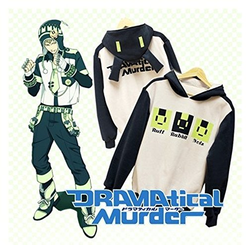 Anime Dramatical Murder DMMD Noiz Rabbit Ear Casual Hooded