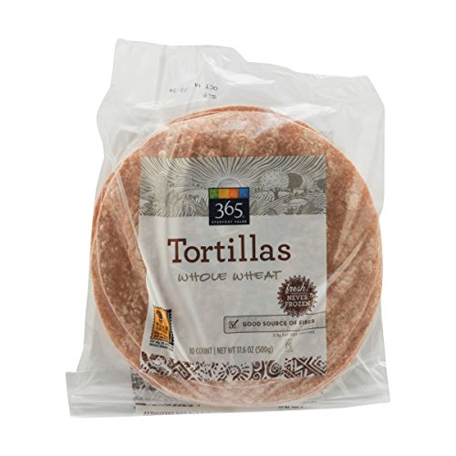 365 Everyday Value, Handmade 100% Whole Wheat Tortillas, 8' , 10 CT