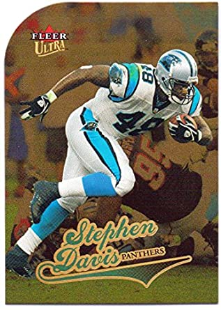 0efe30aec Stephen Davis 2004 Fleer Ultra Gold Medallion  75 - Carolina Panthers