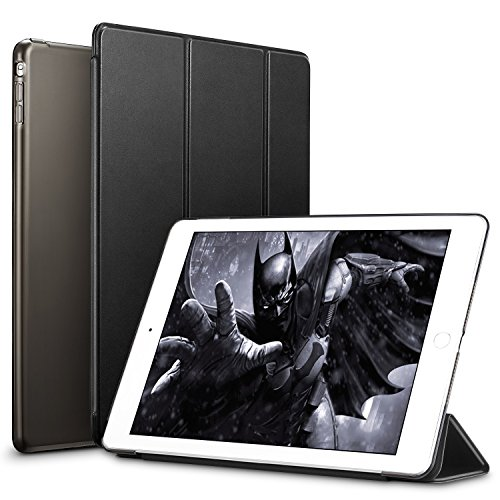 ESR Yippee Trifold Smart Case for iPad mini, Lightweight Trifold Stand Case with Auto Sleep/Wake, Microfiber Lining, Hard Back Cover for iPad mini 1/iPad mini 2/iPad mini 3 (Mysterious Black)