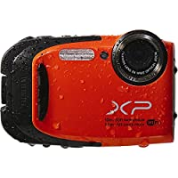 FUJIFILM 16409662 / FinePix XP70 16.4 Megapixel Compact Camera - Orange 2.7 LCD - 5x Optical Zoom - Optical (IS) - 4608 x 3456 Image