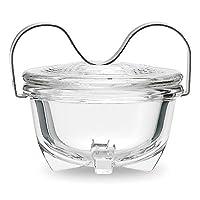 Jenaer Glass Edition Wilhelm Wagenfeld Egg Coddler XXL/Portion Casserole Dish, 475 ml, 115465