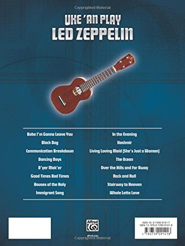 Amazon Uke An Play Led Zeppelin Book 9780739091418 Led