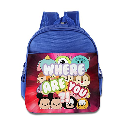 Monster Inc Where Are You Personalize Boy Girl Kid School Bag Soft (Googly Bear Monsters Inc)