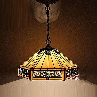 CNMKLM Comedor Cadena Colgante de techo luz Tulipa de ...