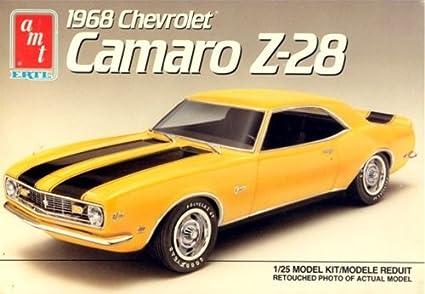 Amazon com: AMT 6559 1968 Chevrolet Camaro Z-28 1:25 Scale Plastic