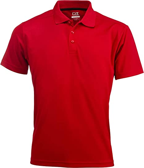 Cutter & Buck Kelowna Polo Men, Größe:4XL, Farbe:Red: Amazon.es ...