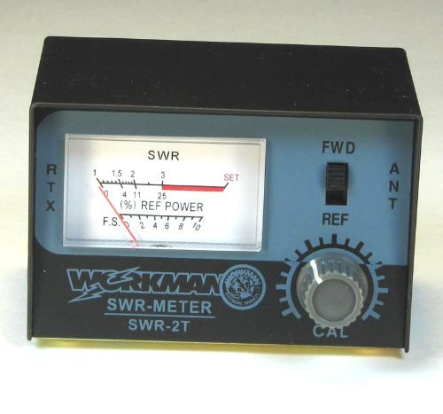[해외]SWR METER, CB 라디오 안테나 테스트 - Workman SWR2T/SWR METER to Test CB Radio Antennas - Workman SWR2T