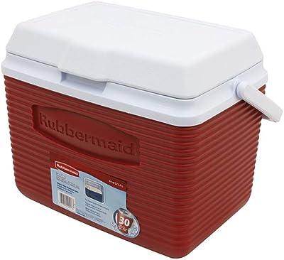 Rubbermaid Cooler, 24 Quart, Red