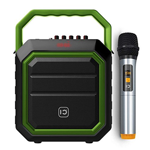 WinBridge Wireless Voice Amplifier Microphones and Speakers with Handheld Mic Portable Pa System Karaoke System Bluetooth Speaker 30W for Outdoors Active, Live Performance, Party,Teaching WBH2