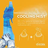 O2COOL Deluxe Misting Fan, 1, Light Blue